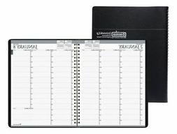 "House of Doolittle Pro Weekly Planner, 8-1/2"" x 11"", Black,"