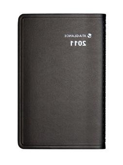 QuickNotes Weekly/Monthly Appointment Book, 3 3/4 x 6, Black