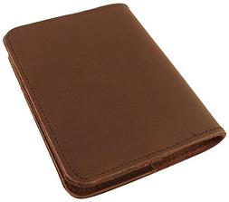 Refillable Leather Pocket Notebook - Mini Composition Cover