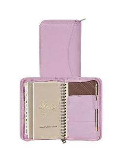 Scully Soft Lamb Leather Zip Pocket Planner