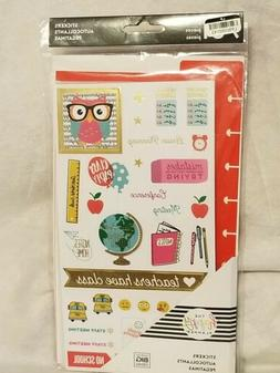 The Happy Planner Stickers For Teachers School 731 Pieces