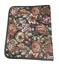 """Tapestry Floral Binder Planner 3 Ring Avery Power Case 11"""""""