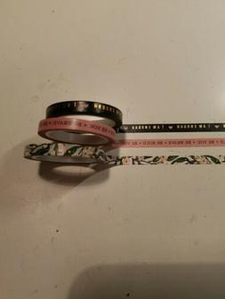 Teresa Collins and The Happy Planner Washi - New 3 rolls