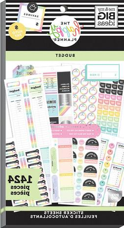 The Classic Happy Planner Budget Value Pack Stickers 1424 NE