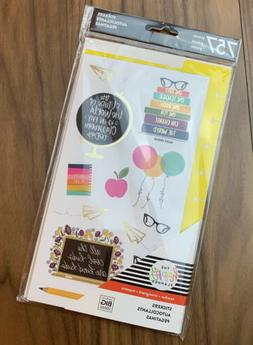 The Happy Planner Teacher Stickers 757 Pieces Set For Year R