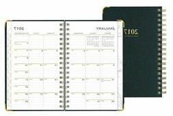"Blue Sky Weekly/Monthly Planner, Carerra, 3 5/8""x6 1/8"", Dar"