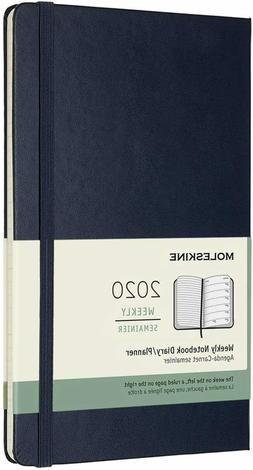 weekly notebook diary planner 2020 colors hard